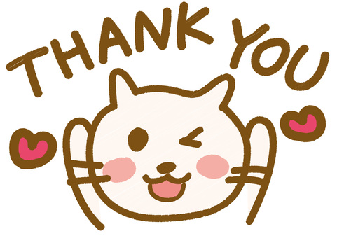 Thank you _ Nekochan