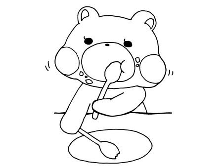 Eat bear 1 1