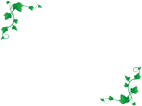 Ivy decorative frame