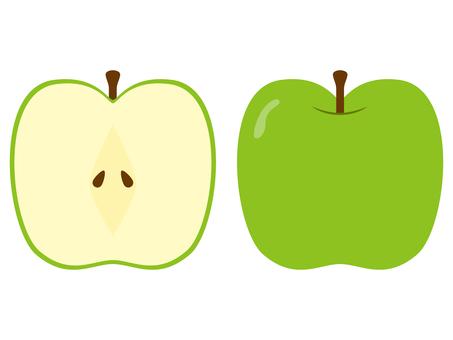Both green apples