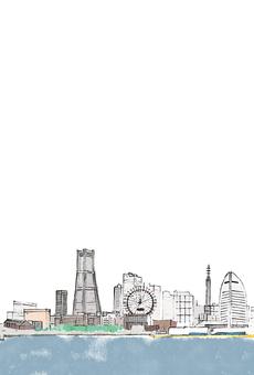Yokohama postcard (transmission) vertical