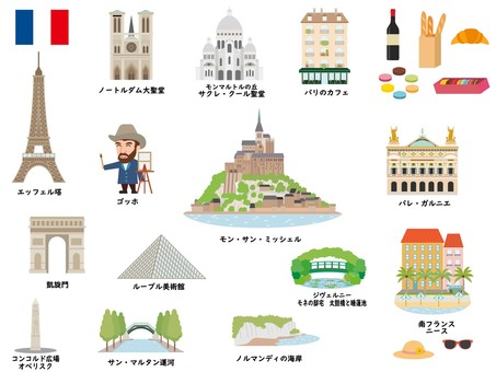 French tourist destinations