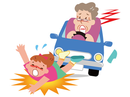 Traffic Accident of Elderly Driver - 9