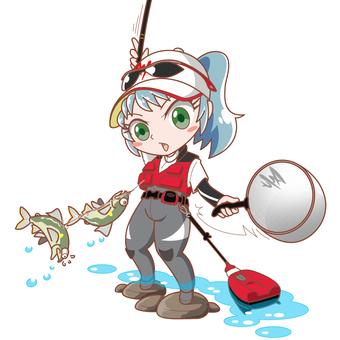 Fishing Girl Ayu Tomo Fishing