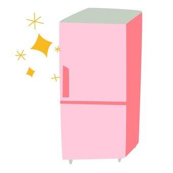 Moving - a new refrigerator