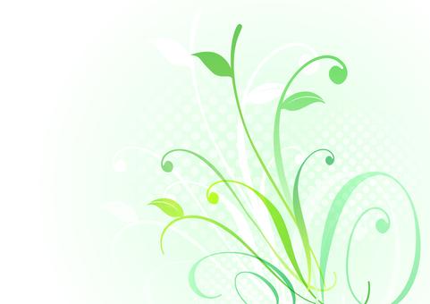 Fresh green material 33