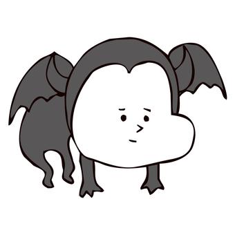 空を飛ぶ悪魔