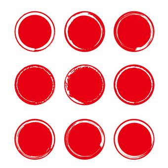 圓形材料-215