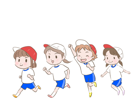 Girls run