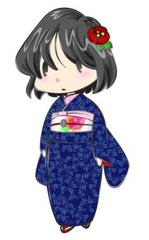 Oshima Tsumugi girl