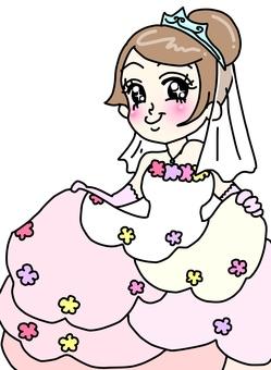 Wedding dress illustrations