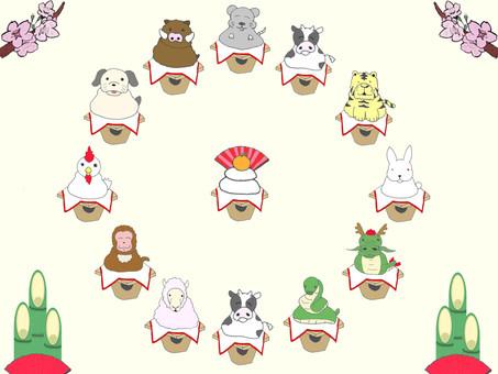 Zodiac sets