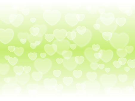 心臟輕,黃綠色