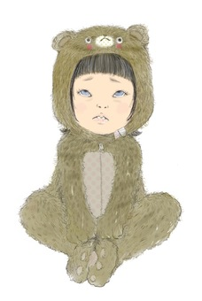 Bear Costume in a Bear