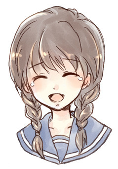 Mitsuami Girl Laughing and Crying
