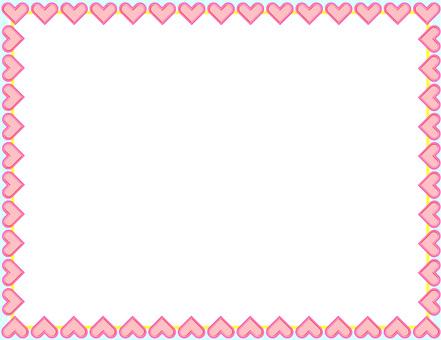 Heart frame frame