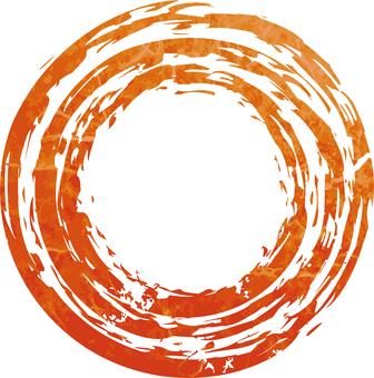 Faint circle
