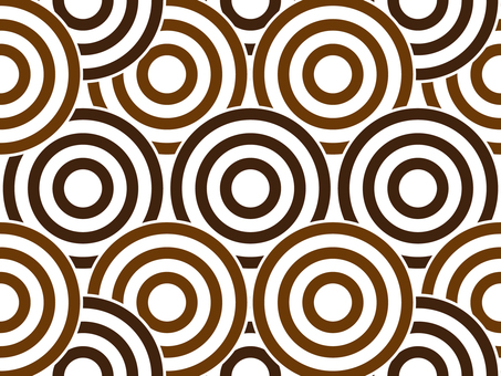 Swirl pattern _ Brown series