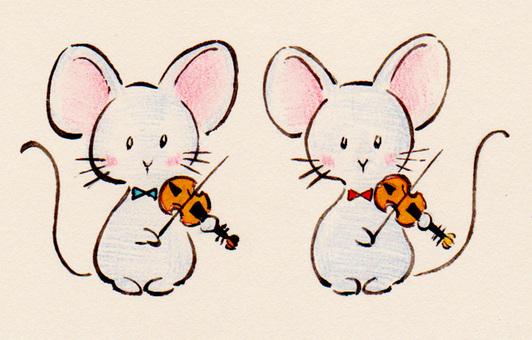 Violin mouse 16