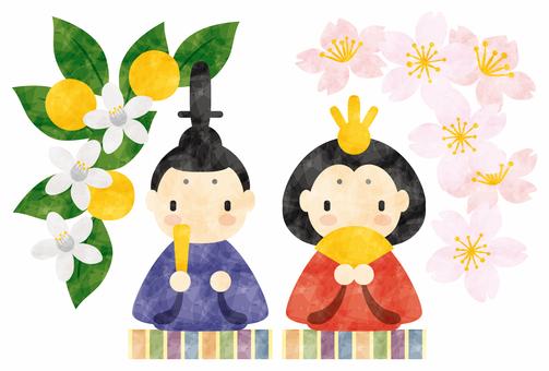 Hina Matsuri / Princess decoration