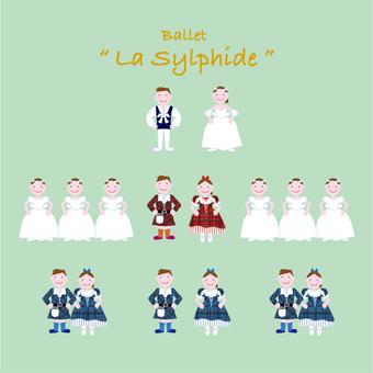 """Ballet """"La Sylphide"""""""