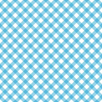 背景-チェックパターン1・ブルー