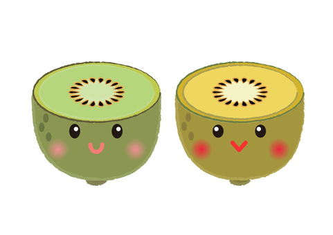 kiwi _ face kiwifruit 2