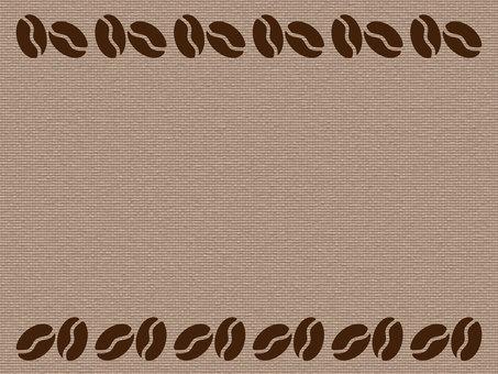 Coffee bean frame 1