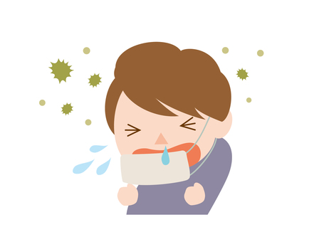 Hay fever male