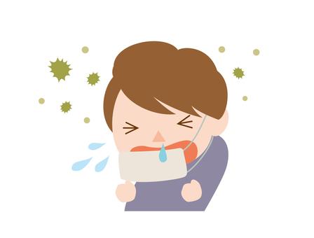 花粉症男性