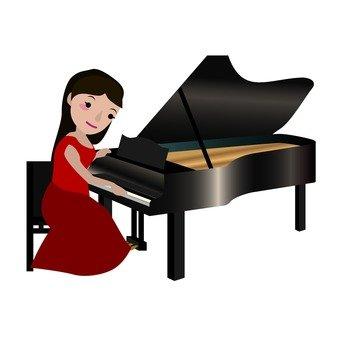 피아니스트 여성