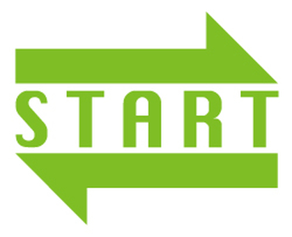 Start arrow _ Green