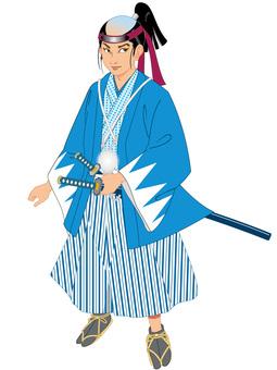 Okita Souji clipping