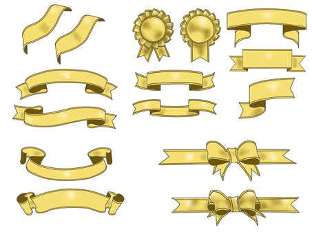 Ribbon Gold 2