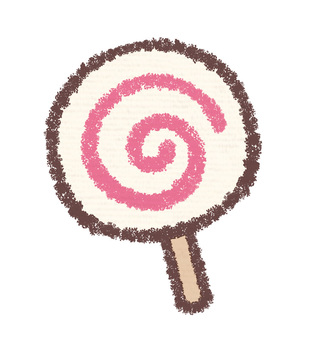 Round candy