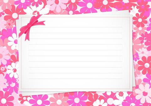 Letter background illustration 5