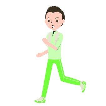 달리는 남자 1