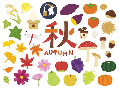 Autumn material summary
