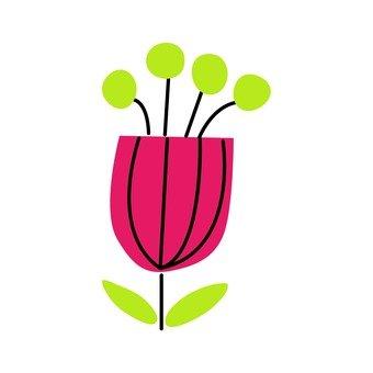 Scandinavian flowers (tulips)