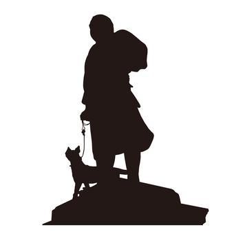 Takamori Saigo statue