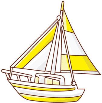 QT Vehicle yacht 1 color 1