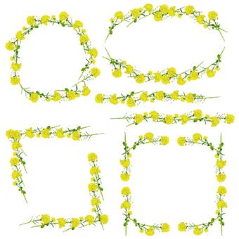 菜の花のパーツ