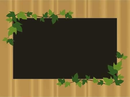 Thread leaf frame