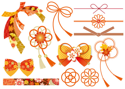 Japanese style Ribbon fall