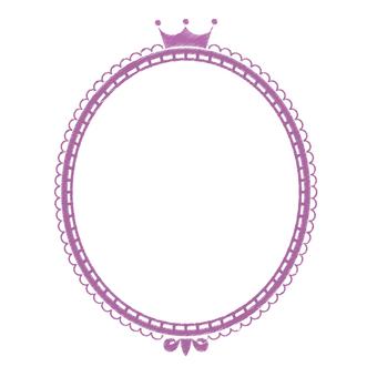 Girly design frame