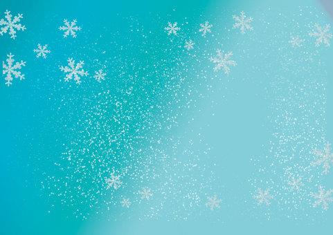 Wallpaper powder snow