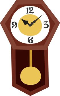 柱時計 振り子時計 レトロ インテリア