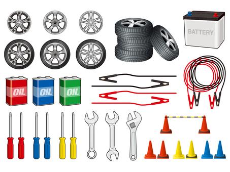 Automotive related set