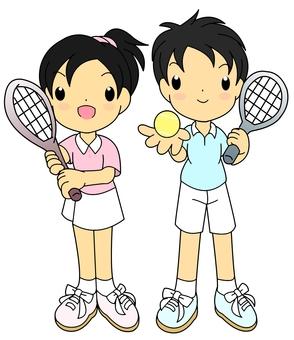 Tennis Pair