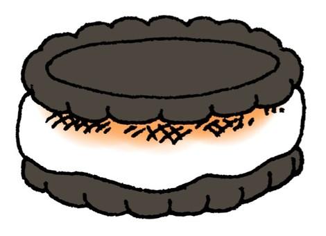 烤棉花糖餅乾三明治